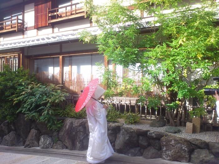 前撮り 京都