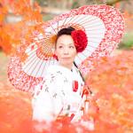 前撮り京都の紅葉