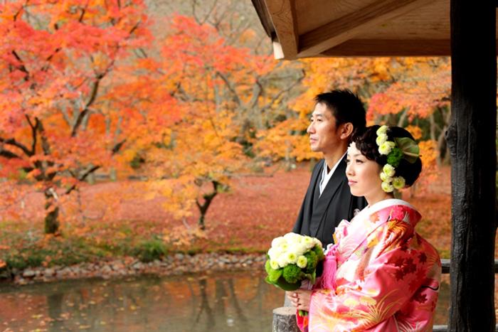 結婚写真 和装前撮りフォトウエディングなら京都 …