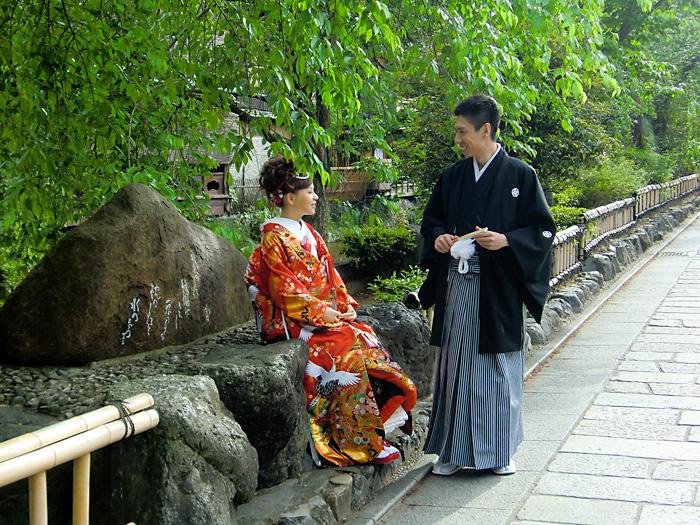 和装前撮り 祇園