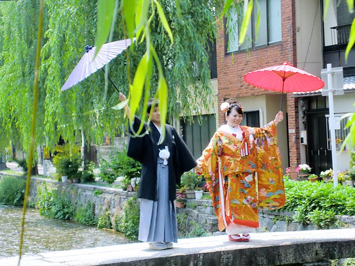 京都らしい和装前撮り