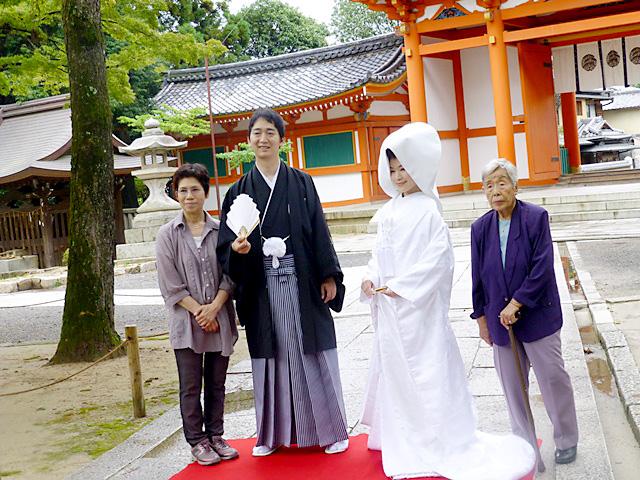 京都 和装前撮り