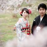 京都前撮り 桜