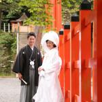 吉田神社にて京都ロケーション前撮り