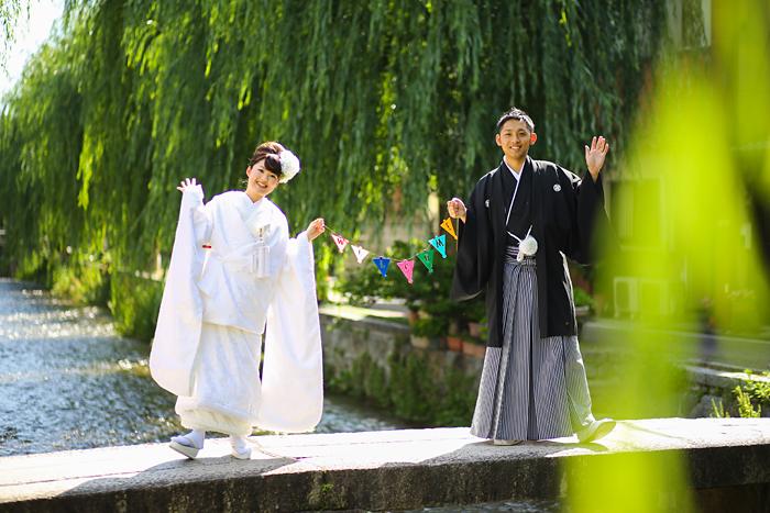 ガーランドでオリジナルの京都前撮り