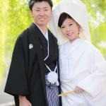 京都・東山白川にて白無垢での和装前撮り