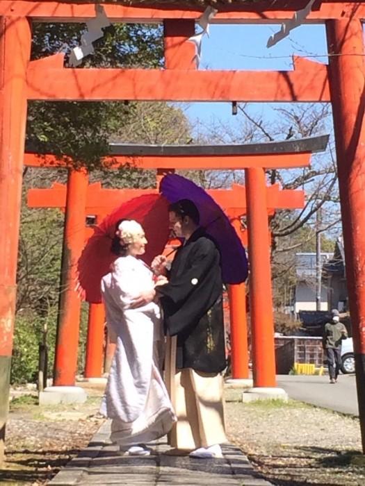 京都花嫁和婚前撮り